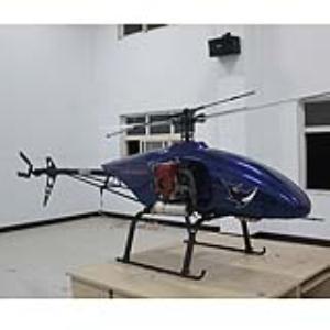 蓝鲨120型农用无人直升机