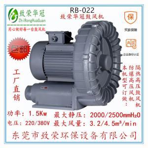 高压风机RB-022 1.5Kw旋涡气泵