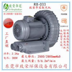 全风高压风机RB-033 2.2Kw高压鼓风机