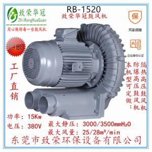 旋涡气泵RB-1520鼓风机15Kw高压风机