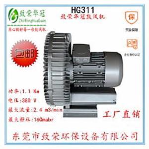 旋涡风机HG311旋涡风机1.1Kw高压鼓风机