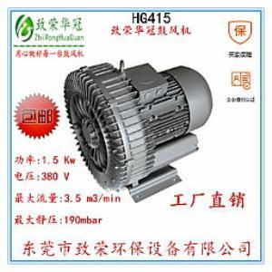 1.5kw旋涡高压风机HG415高压鼓风机