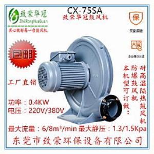 透浦式中压风机CX-75SA 0.4Kw中压风机
