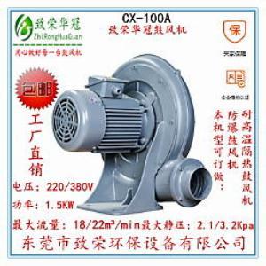 中压风机CX-100A透浦式鼓风机1.5Kw鼓风机厂家