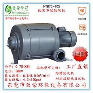 透浦多段式鼓风机HTB75-105中压风机0.75Kw全风鼓风机
