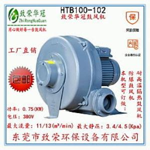 0.75Kw透浦多段式中压鼓风机 HTB100-102中压风机