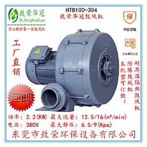 中压鼓风机2.2Kw多段式中压风机HTB100-304全风鼓风机