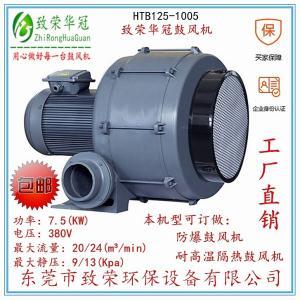 7.5Kw透浦多段式鼓风机HTB125-1005中压风机