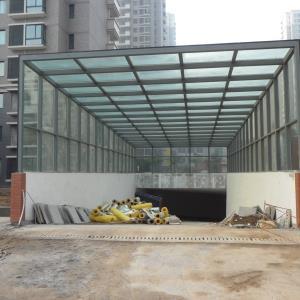 郑州车库出入口棚YD-1