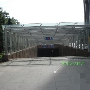 郑州车库出入口棚YD-5