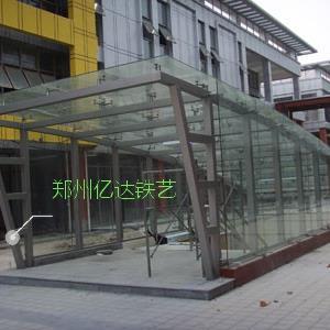 郑州车库出入口棚YD-7