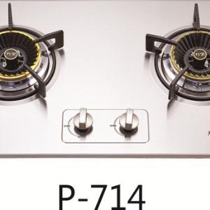 万宝P714不锈钢嵌入式双灶