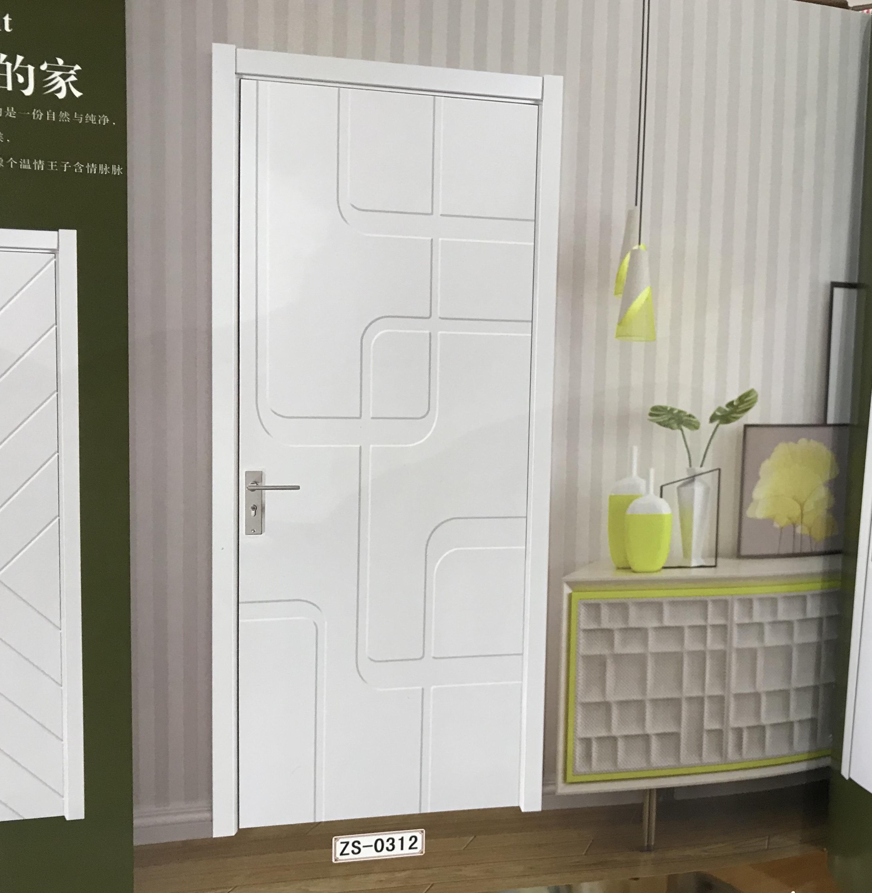 时尚白色烤漆门