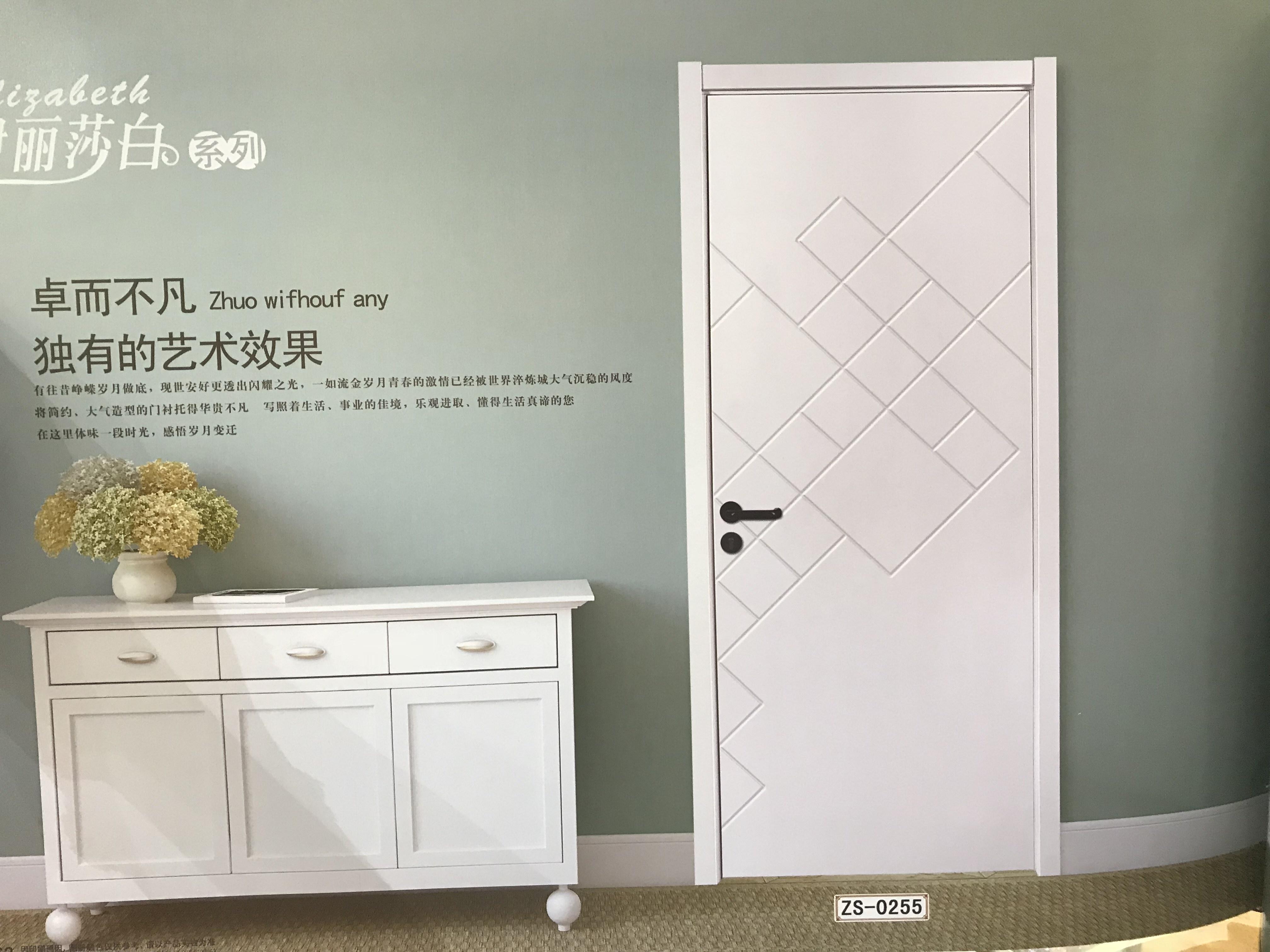 新工艺烤漆门