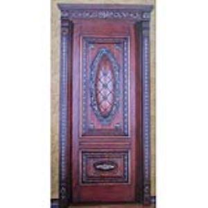 橡木原木烤漆门