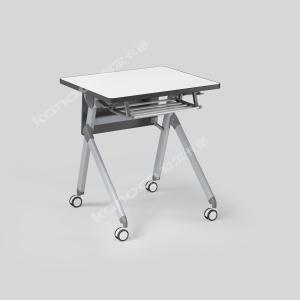 培训桌700含挡板和书包架