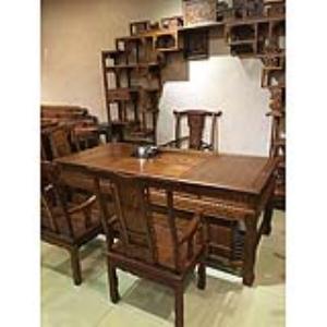 恒发红木 书桌椅