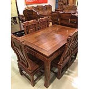 恒发红木 餐桌