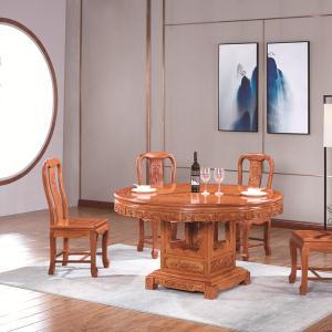 宏木棠富贵团圆餐桌1+6