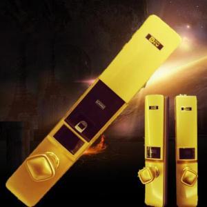 德尔文 K-5指纹锁 智能锁 防盗门锁