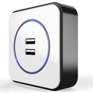 多彩奥利奥USB插座(垂直式触点可R款)
