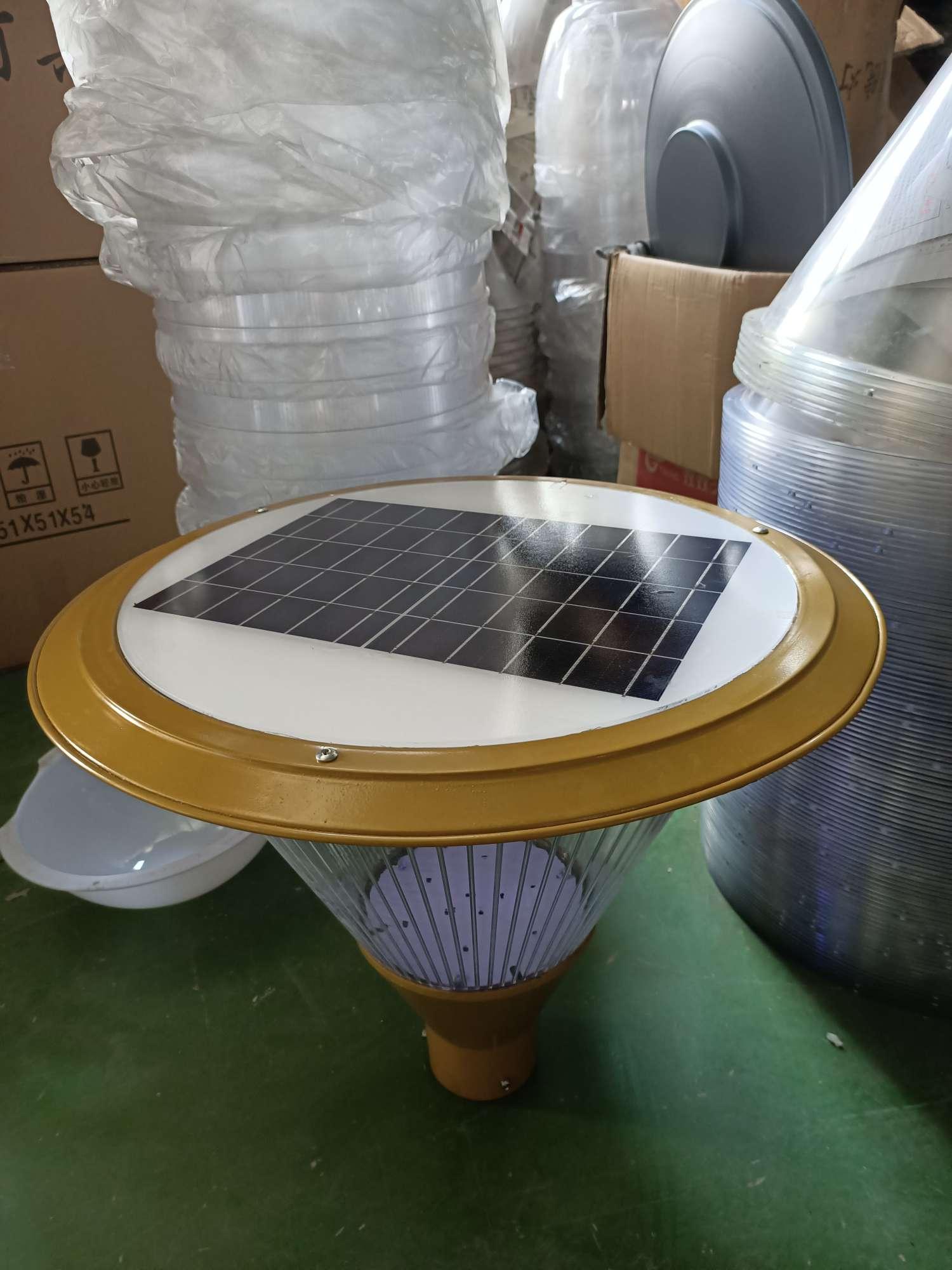 太阳能庭院灯头