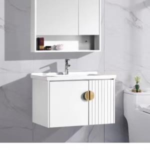 885-70白色PVC浴室柜