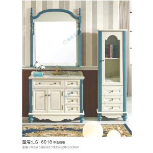 橡木浴室柜 LS-6018 (不含侧柜)